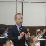 廣田委員長(第47回島根・鳥取県経済同友会合同懇談会)
